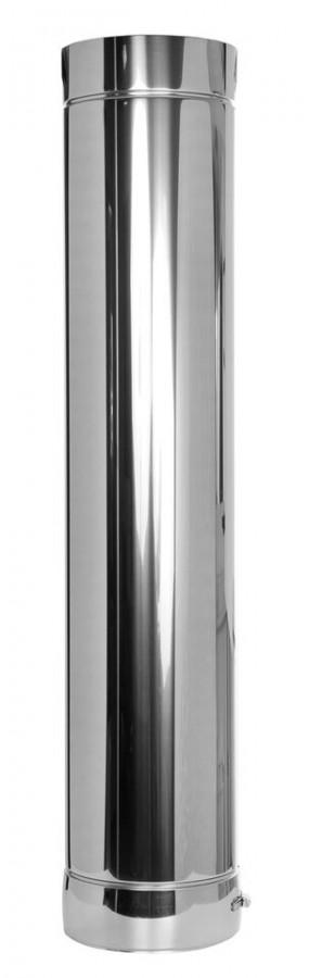 Elément droit 1000mm - double paroi - TEC-DW-LIGHT
