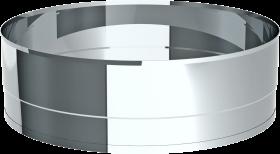 Tube d'éjection avec une longueur d'extrémité à bride 95 mm - Système chute à linge