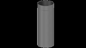 Elément droit 500mm gris - Conduit poêle à bois - double paroi - TEC-FR-ISOLINE