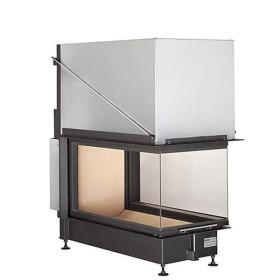 Insert bois BRUNNER Panoramique 51/88/50/88 – 14,5kW avec porte relevable (easy lift)