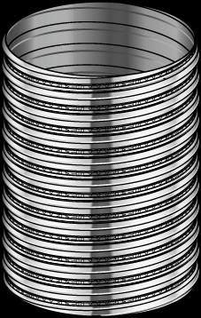 tubage flexible kit ext rieur kit flex poujoulat 150mm tubage chemin e chemineeo. Black Bedroom Furniture Sets. Home Design Ideas