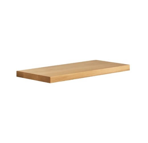 Olsberg support en bois pour compartiment pour bois, longueur: 640 mm, hêtre
