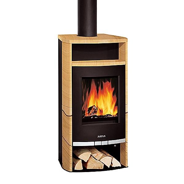 poele a bois justus frisco 5kw gr s chemineeo. Black Bedroom Furniture Sets. Home Design Ideas