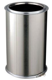 Elément droit - 450 mm - isolé - inox-galva - Poujoulat