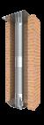 Tubage inox flexible double peau - rénovation de conduit maçonné - Ø160mm