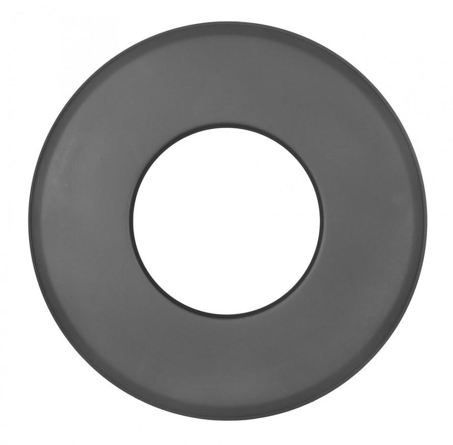 Ofenrohr FERRO1423 - Wandrosette 85 mm schwarz