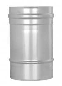 Conduit simple paroi inox 250mm - TEC-EW-CLASSIC